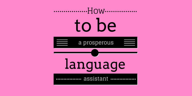 Being a language assistant: why am I writing this e-book?