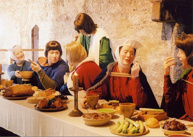 À la table du seigneur…